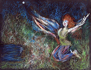 "image: ""Metamorphosis Under the Moon"" by Brenda Clews"