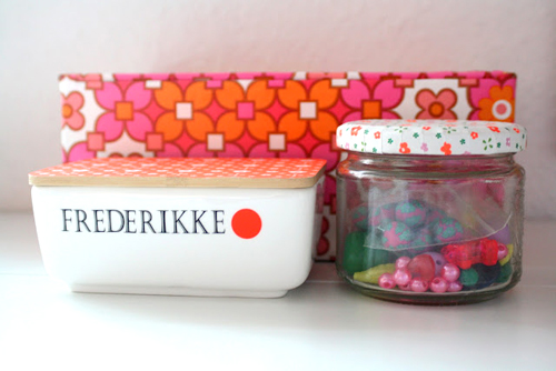 Norwegian%252520Craft%252520Room%252520Storage%252520Jars Bright Pastel Craft Room | Home Office Space from Barewunderbar