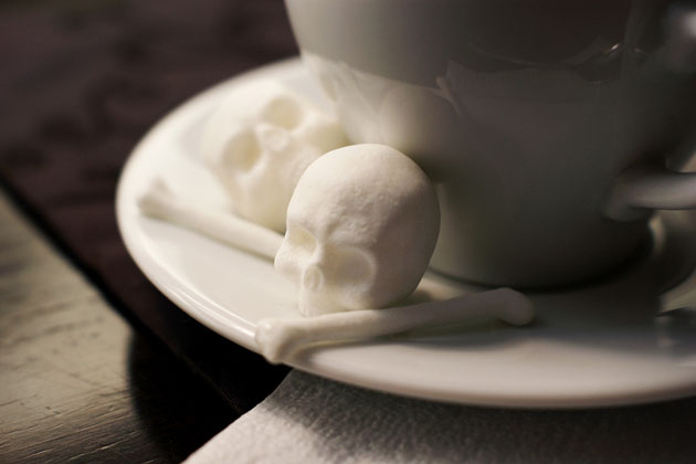 *骷髏方糖鬼咖啡:白骨浮現?!農曆七月還沒到呢! 4