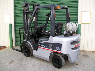 Xe nâng LPG Forklift