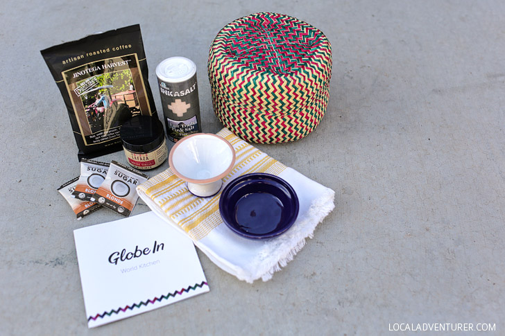 Globein Box - The Globe in a Monthly Subscriptions Box.