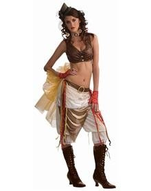Steampunk Showgirl Adult Women's Costume