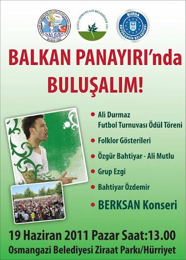 3. Osmangazi Balkan Panayırı