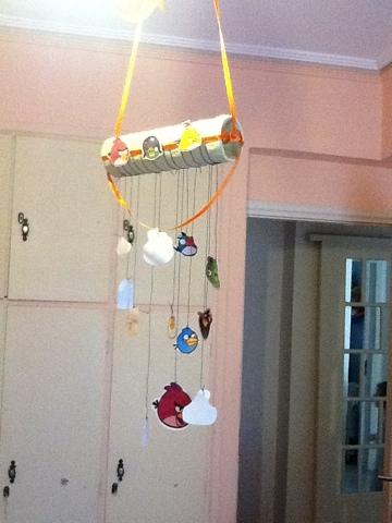 Παιδικη κατασκευη με Angry Birds