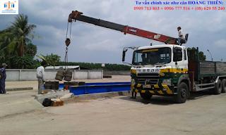 cân xe tải tải 10 m chất lượng cao