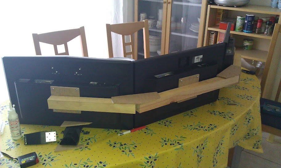 diy support 3 cran a 15. Black Bedroom Furniture Sets. Home Design Ideas