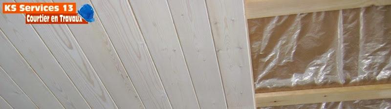 Ks services 13 pose de lambris plafond prix for Lambris au plafond