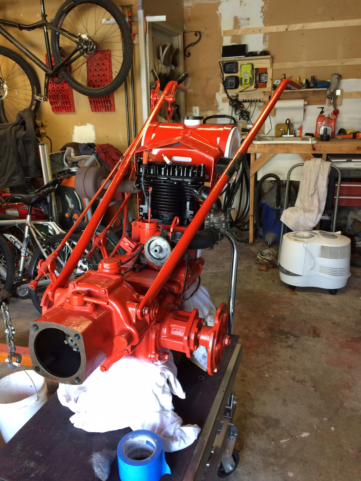 1965 Gravely 4 Wheel Tractor : Project l page mytractorforum the