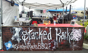 The BBQ teams usually put some love not only into what they are cooking, but even in decorating their booth