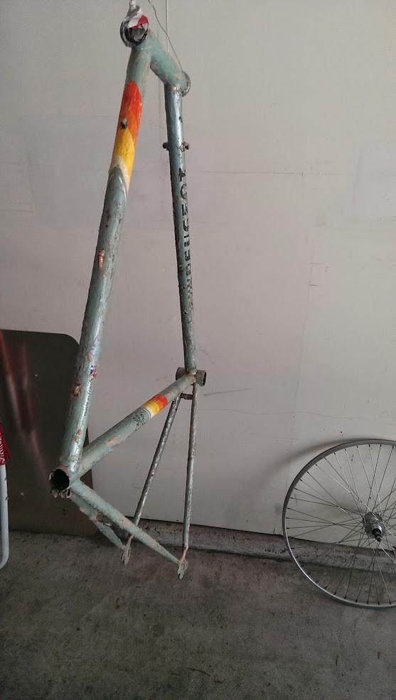 Restore Rusted 80s Peugeot Road Bike - Bike Repair Forums