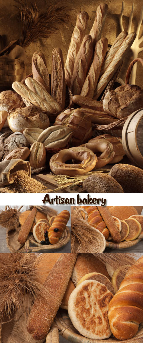 Stock Photo: Artisan bakery