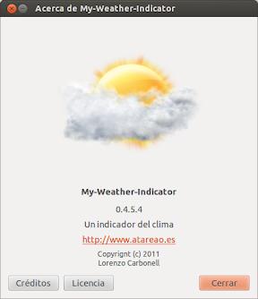 My-Weather-Indicator 0.4.5.6 ó geolocalización continua