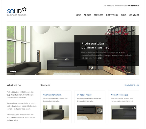 Solid WP Business Theme