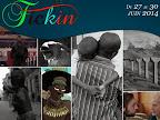 Affiche du 1er Festival du cinéma de Kinshasa (FICKIN)