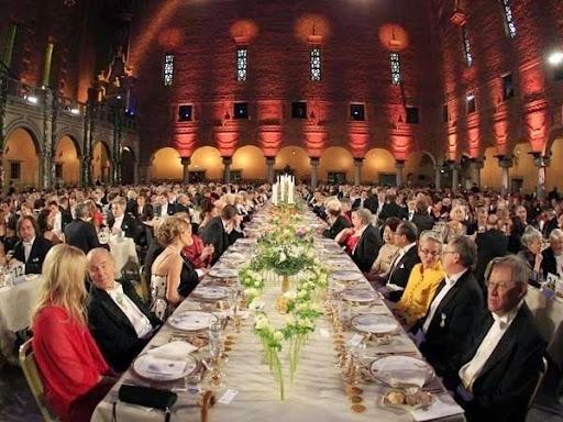 Cận cảnh bữa tiệc xa hoa chiêu đãi người đoạt giải Nobel 4