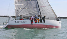 J/125 Timeshaver- sailing fast offshore California Ensenada