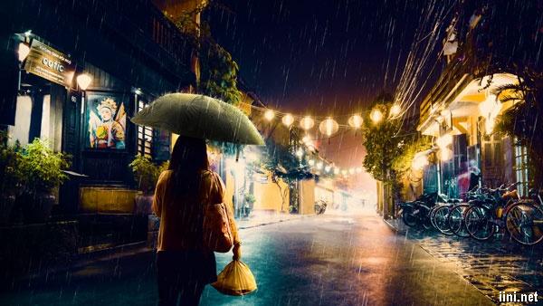 mưa đêm tháng 6