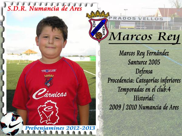 ADR Numancia de Ares. Marcos Rey.