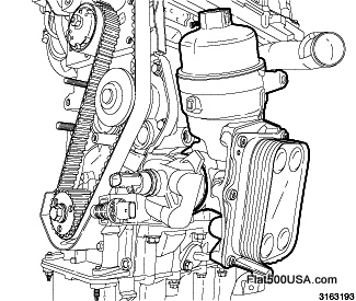 Inside 2012 Fiat 500 Engine