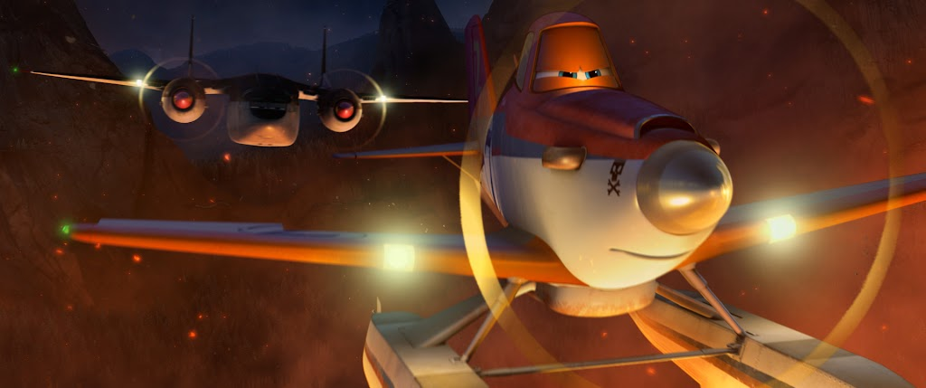 Dusty in Disney Planes: Fire & Rescue