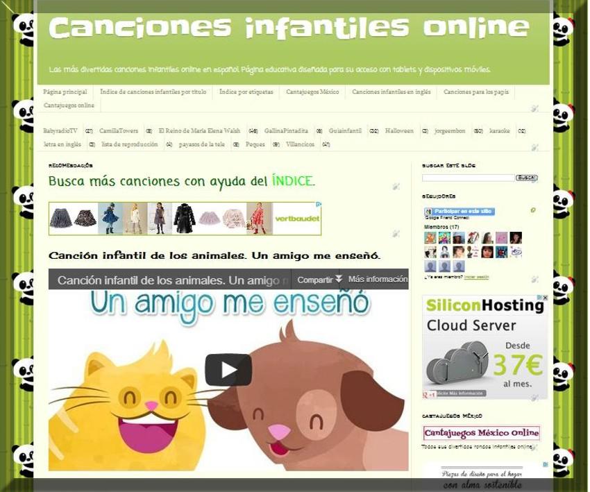 Vídeos Infantiles online