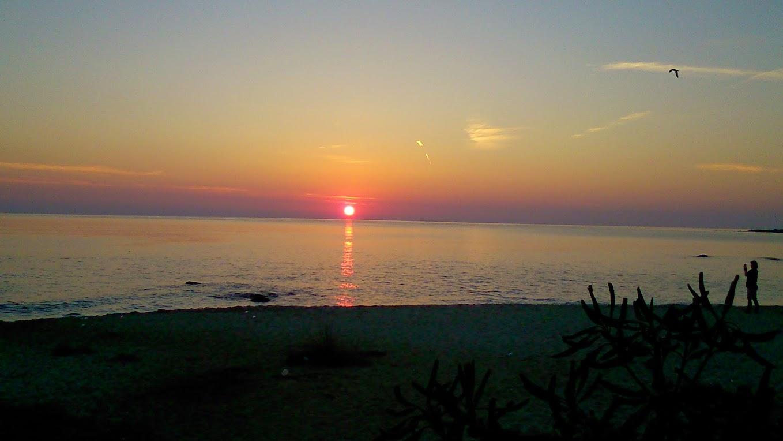 Рассвет после ночи в клубе AmbraNight. Пляж. 5-6 утра