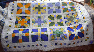 X and Plus Challenge Quilt