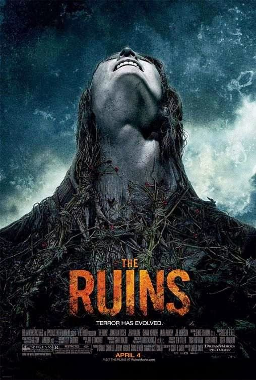 Poster Of The Ruins (2008) Full Movie Hindi Dubbed Free Download Watch Online At Alldownloads4u.Com
