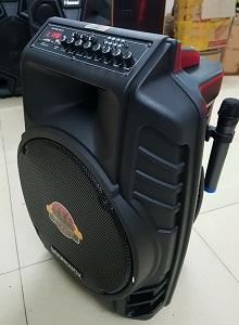 Loa SOUNDBOX S16A (Tặng 2 micro không dây) - có bluetooth, 4.5Tấc