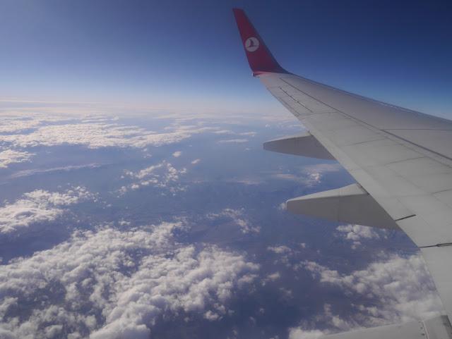 行きはビジネス、帰りは白い恋人と過ごす、トルコ旅行 1