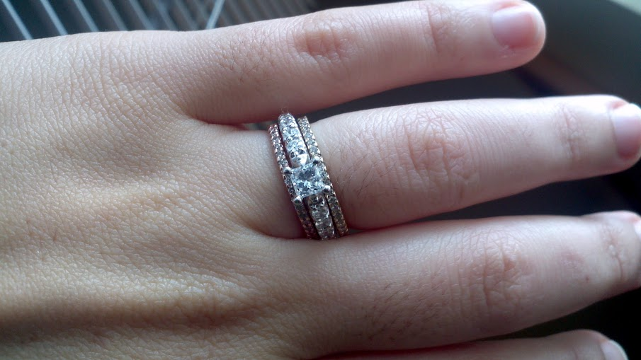 Anyone Have Wedding Bands That Do Not Match Your Engagement Ring