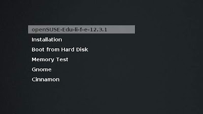 openSUSE Edu Li-f-e 12.3 lista para descargar