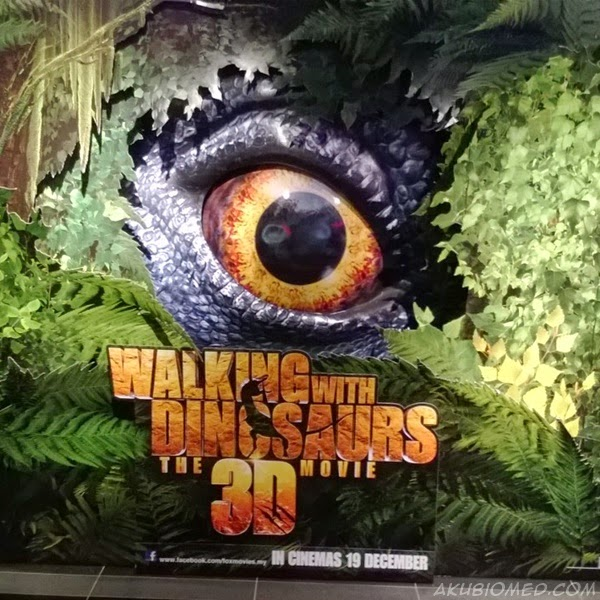 tiket walking with dinosaurs 3d