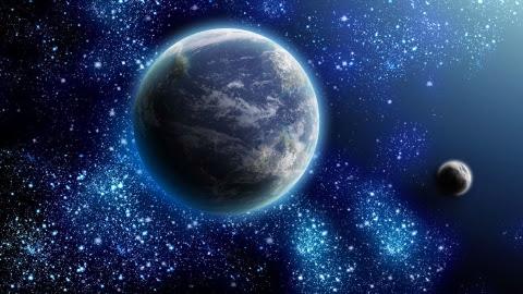 Земля - взгляд из космоса...