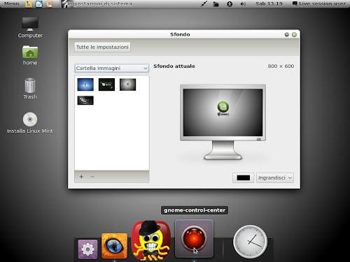 Gnome 3 su Linux Mint