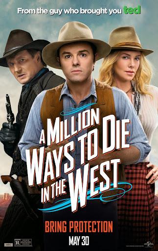 Χίλιοι Τρόποι Να Πεθάνεις Στην Άγρια Δύση (A Million Ways to Die in the West) Poster