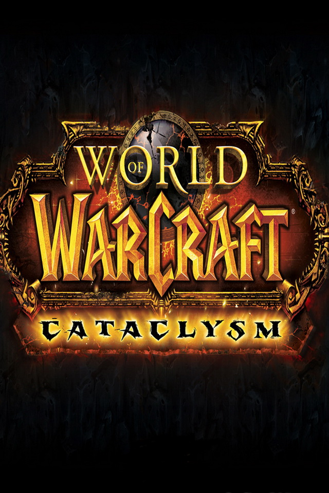 iPhone4 Desktop Background World of Warcraft Cataclysm Wallpaper