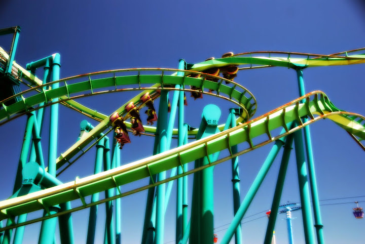 Roller coasters galore! From A Complete Guide to Visiting Cedar Point