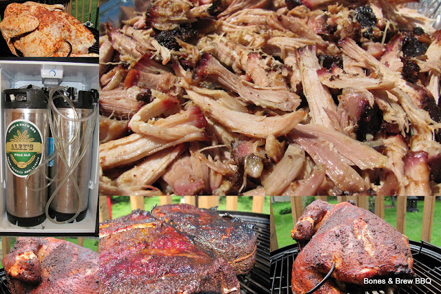 Pulled Pork, Smoked Turkey and Alex's Pale Ale