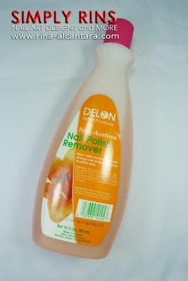 Delon Non-Acetone Nail Polish Remover