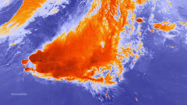 El Estado de Florida en emergencia por las lluvias torrenciales