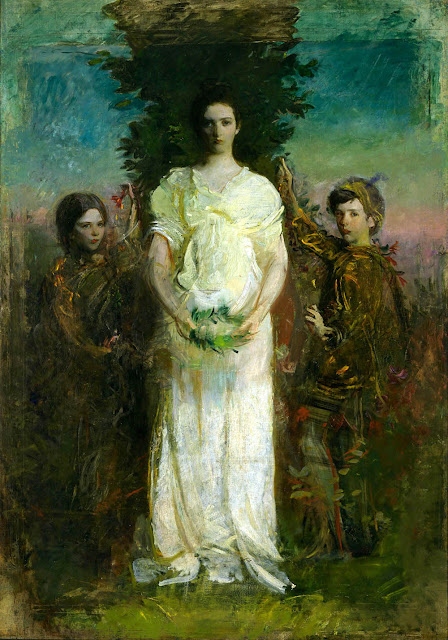 Abbott Handerson Thayer - My Children