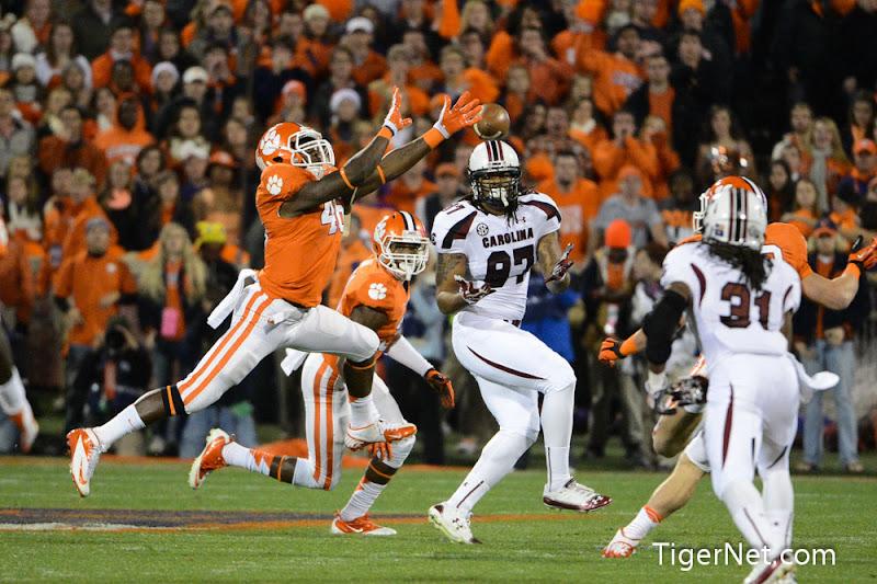 Clemson vs. South Carolina Photos - 2012, Football, Jonathan Willard, South Carolina