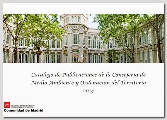 Nuevo catálogo de Publicaciones de Medio Ambiente y Ordenación del Territorio - Junio 2014