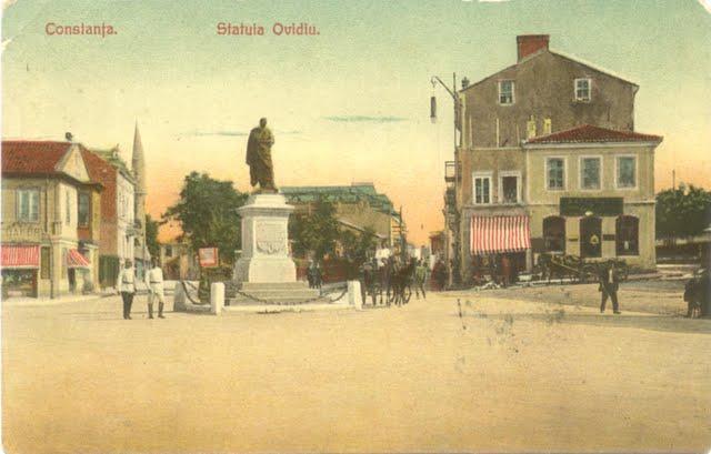 Ovidiu Statue