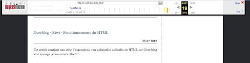 Mon blog en août 2012