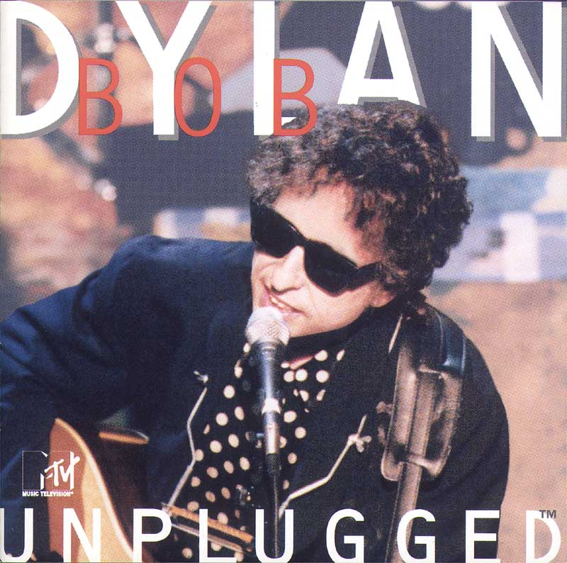 Bob Dylan - MTV Unplugged album cover