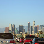 It was a pretty clear Saturday and the view was nice, even in traffic