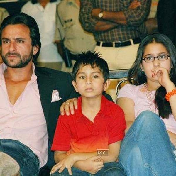 Sara and Ibrahim - kids of Saif Ali Khan and Amrita Singh also had to deal with the separation of their parents.