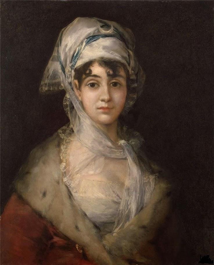 Francisco Goya - Portrait of the Actress Antonia Zarate